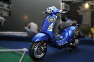 Vespa Sprint phiên bản Del Piero độc nhất giá 350 triệu đồng