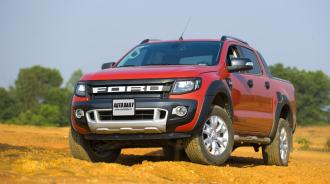 Ford Ranger Bán tải cái tên được ưa chuộng nhất nửa đầu 2015
