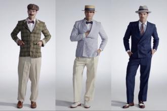 Lịch sử biến đổi trang phục nam giới trong 100 năm