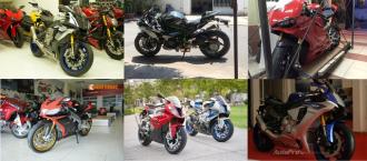 Những chiếc Superbike mạnh nhất tại Việt Nam