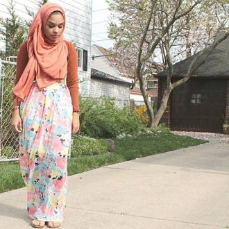 Những cô gái Hồi giáo mặc đẹp nức tiếng