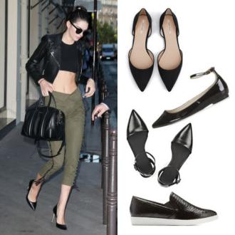 8 mẫu giày bệt khiến chân ngắn thon thả như đi giày cao gót