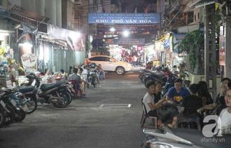 Đến với hẻm ẩm thực tiếng tăm ở trung tâm Sài Gòn