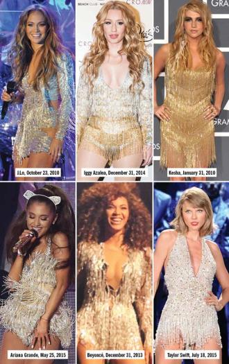 """Những kiểu đồ diễn """"đốt cháy sân khấu"""" của sao nhạc Pop"""