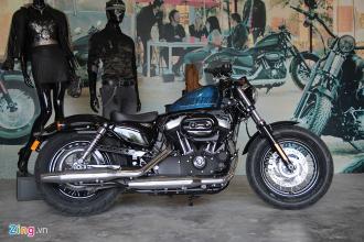 Harley-Davidson Forty-Eight với cái nhìn cận cảnh