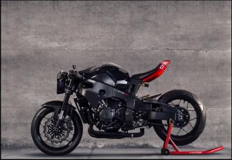 Hình ảnh 'cực chất ' của Honda CBR1000RR lột xác với phong cách StreetFighter
