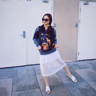 Angela Phương Trinh đẹp nuột từ đường phố đến sự kiện