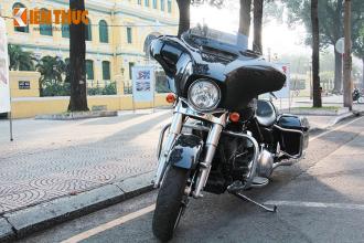 Cận cảnh Harley-Davidson Street Glide giá 1,1 tỷ trên phố Sài Thành