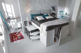 Giường tủ 2-trong-1: giải pháp hoàn hảo cho căn nhà nhỏ