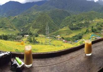 Khung cảnh nên thơ, lãng mạn tại những quán cafe ở Sapa