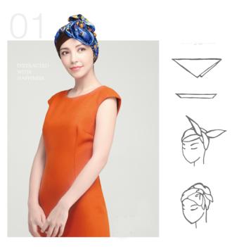 Những kiểu thắt khăn điệu đà sang chảnh cho quý cô công sở