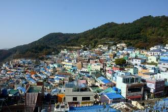 'Khu ổ chuột' Gamcheon, một kỳ danh xứ Hàn