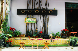 Ghé thăm quán trà nhỏ giữa lòng Sài Gòn