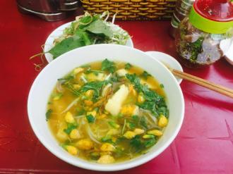 Món bún cá Châu Đốc ngon tuyệt đã có ở Sài Gòn