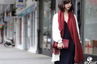Teen girl Hà Thành thích thú với thời trang trên đông dưới hè