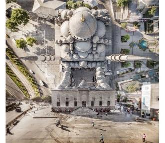 Thành phố uốn cong siêu ảo như phim Inception