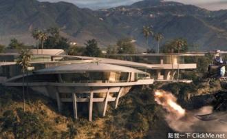 Vẻ đẹp xa hoa của biệt thự Iron Man