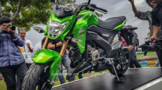 Cận cảnh chi tiết Kawasaki Z125 2016