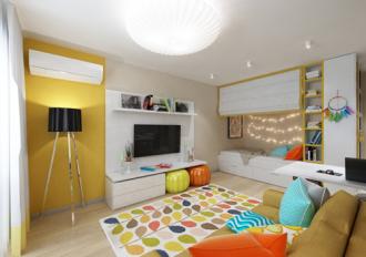 Căn hộ đẹp dù diện tích dưới 30 m2