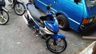 Chi tiết Yamaha 135LC 2016 ngoài thật tế