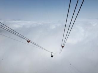Chiêm ngưỡng 'nóc nhà Đông Dương' bằng tuyến cáp treo dài nhất thế giới