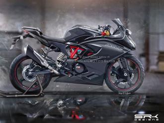 TVS Akula 310 mẫu sportbike giá rẻ của chiếc BMW G310R