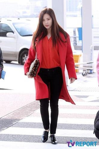 Áo khoác măng tô dáng dài nữ đẹp của sao Hàn