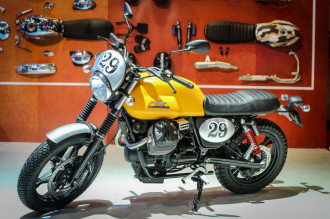 Chi tiết Moto Guzzi V7 II Scrambler