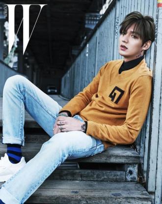 Những kiểu tóc nam đẹp hot như mỹ nam Hàn