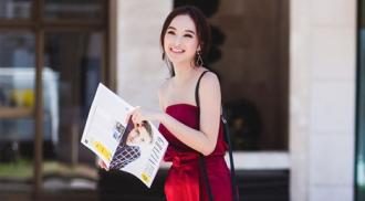 Angela Phương Trinh nổi bật trên đường phố Pháp