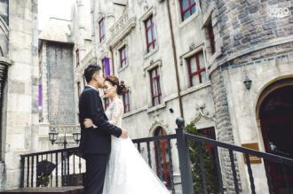 Ảnh cưới đậm chất cổ tích của Quang Tuấn - Linh Phi