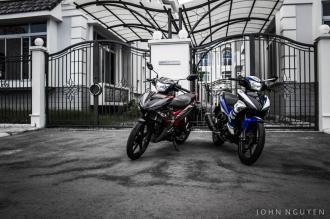 Bộ ảnh Exciter 150 đậm đà bản chất Yamaha