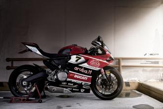 Ducati 899 Panigale độ tem đấu qua góc ảnh của tay chơi Nhật
