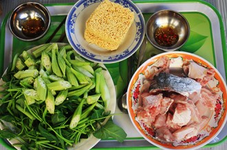 Món khoái khẩu trên đảo Thạnh An - Lẩu cá chẽm