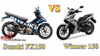 Suzuki FX150 VS Honda Winner 150