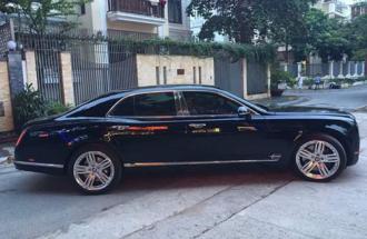 Bentley Mulsanne 'siêu sang' cũ với giá 5,5 tỷ tại Việt Nam