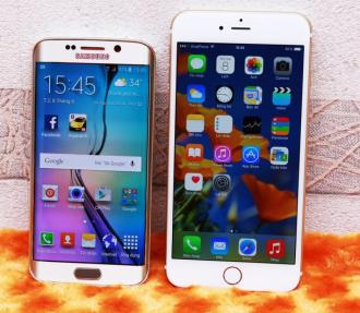 Galaxy S6 Edge VS iPhone 6s về camera