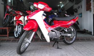 Suzuki RGV 120 đời 1999 giá 120 triệu đồng tại Việt Nam