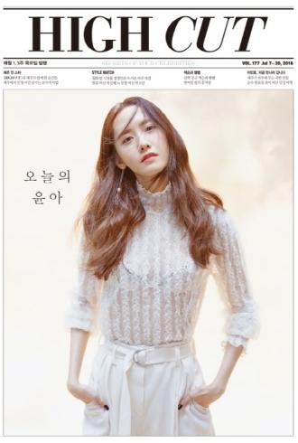 Yoona (SNSD) táo bạo hở hang trên tạp chí