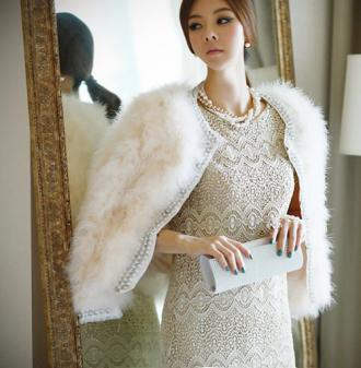 Áo khoác nữ Hàn Quốc đẹp cho đêm tiệc thêm ấn tượng
