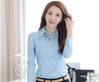 Áo sơ mi nữ phong cách Hàn Quốc cho nàng công sở thanh lịch