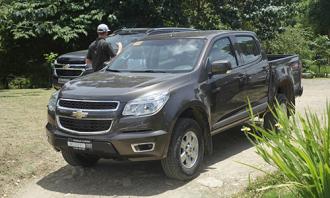 Hình ảnh chi tiết Chevrolet Colorado 2017 tại Philippines