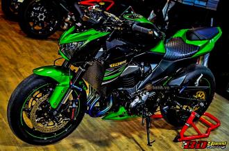 Kawasaki Z800 độ trong bộ giáp đầy kiêu sa trên đất bạn