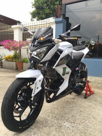 Bản độ Kawasaki Z250 đơn giản