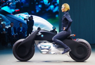 Ngắm siêu môtô người dơi ngoài đời thực từ BMW
