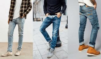 Cách chọn quần jean cho những người nhẹ cân
