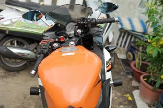 Hình ảnh Honda CBR150 độ touring cho AE