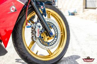 Honda CBR150 độ đầy phong cách mạnh mẽ