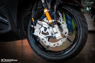Yamaha NVX 155 độ dàn chân siêu đỉnh cá tính