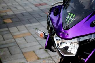 Honda CBR150 phiên bản Candy Violet độc đáo